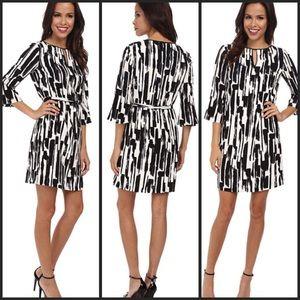 Tahari Dresses & Skirts - Tahari Painstroke Print Dress