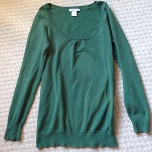 ✳️ Green Charlotte Rouse Sweater