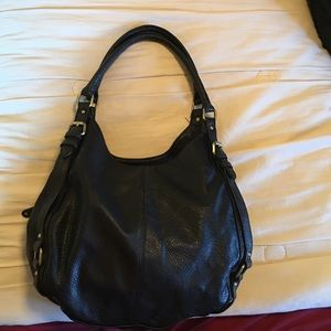 Merona faux black leather