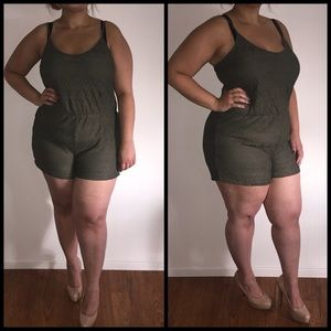 Dresses & Skirts - Military Green Romper*
