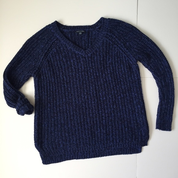 57% off American Eagle Outfitters Sweaters - American Eagle Sparkly Chunky Kn...