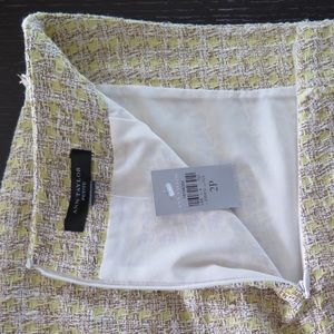 Ann Taylor Skirts - Ann Taylor Petite Yellow Tweed Skirt NWT