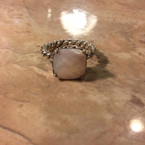 edaf545b6 Elegant Sincerity Twist Ring, Mother of Pearl. M_5765f6a1291a35d540011612