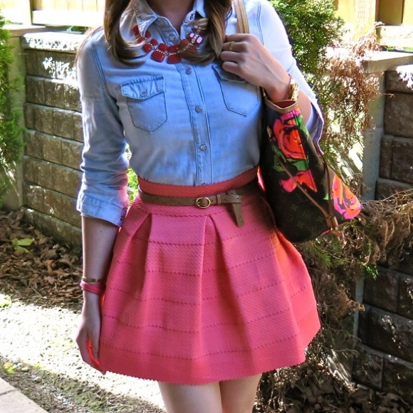 Gabriella Rocha Skirts - Gabriella Rocha Sophey Bandage Skater Skirt