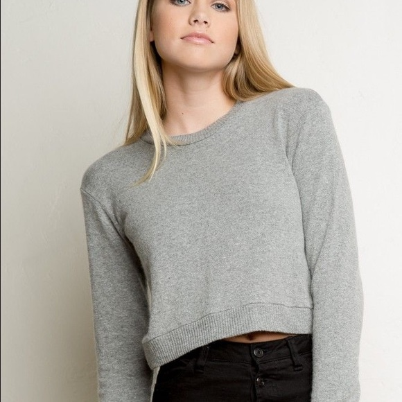 Brandy Melville Sweaters , Brandy Melville Abi Knit Grey Sweater