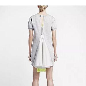 Sacai Dresses & Skirts - Sacai Nike Lab Fleece Sweatshirt Dress Size M
