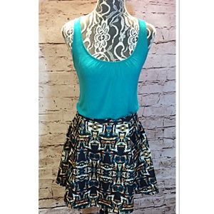 Lily Rose Dresses & Skirts - 🎉HP🎉ADORABLE BOLD PRINT SKIRT BY LILY ROSE