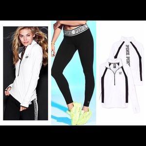 VS Pink Reversible Ultimate Jacket and Legging