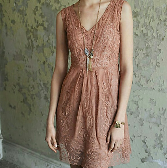 8f36d43a5db64 Anthropologie Dresses & Skirts - Yoana Baraschi At dusk Dress by  Anthropologie