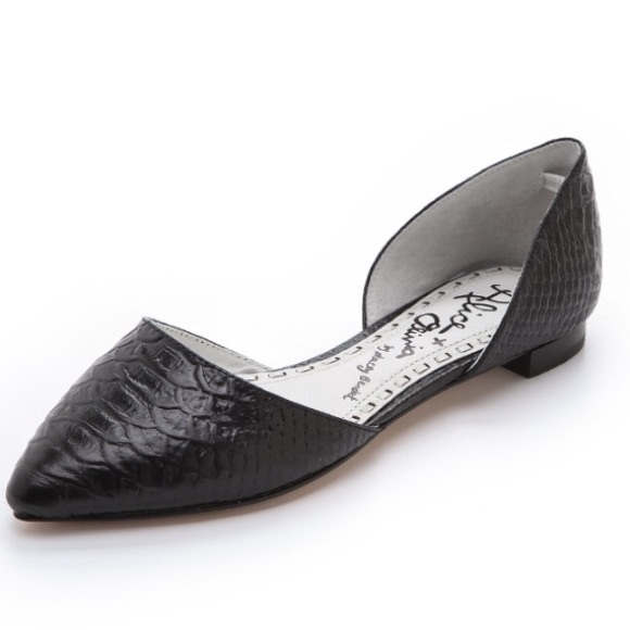 Alice + Olivia Embossed D'Orsay Flats perfect sale online cheap low price fee shipping cgdz3