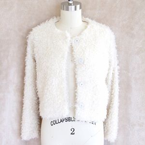 1. STATE Jackets & Blazers - Fluffy Ivory Coat