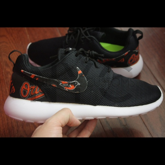 Baltimore Orioles Nike Roshe One Custom
