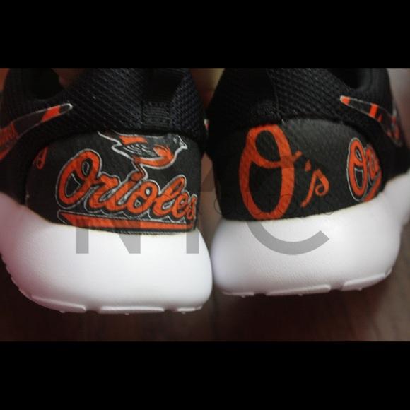 36% off Nike Shoes - Baltimore Orioles Nike Roshe One Custom from Harry s  closet on Poshmark 607c4e823