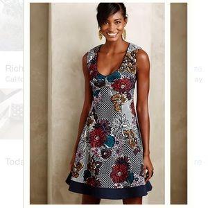 NIP Anthropologie Fairchild Flared Dress, Maeve