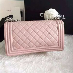 prada bags thailand - 19% off CHANEL Handbags - Auth Chanel Boy Medium Light Pink ...
