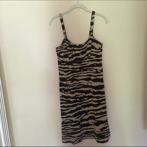 MICHAEL KORS tiger print dress