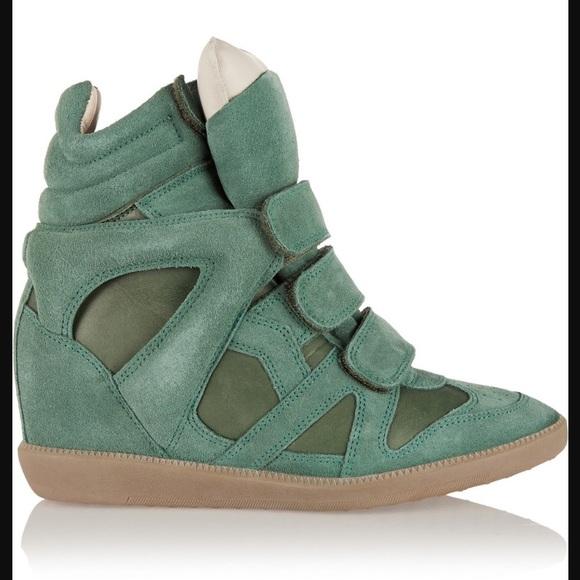 c9fbb7f1423 Isabel Marant Shoes - Green Isabel Marant Sneakers