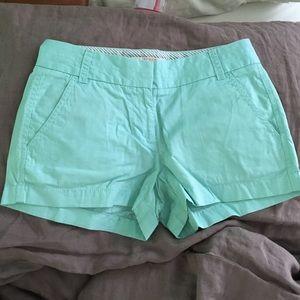 """J.Crew 3"""" Chino Shorts - 00"""