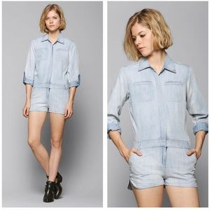 Urban Outfitters Chambray Romper