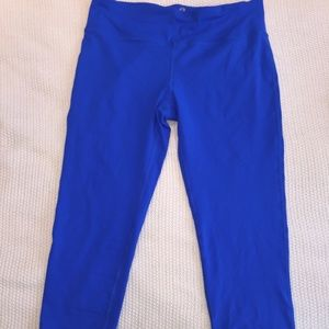 80% off Pants - Bright Blue Yoga Pants - Large from Gianni's ...