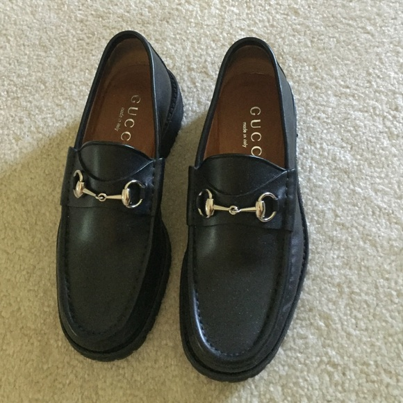 GucciMen's Classic Leather Moccasin tmcROqpD