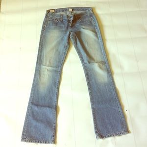 Abercrombie and Fitch jeans 4r Cotton lowrise