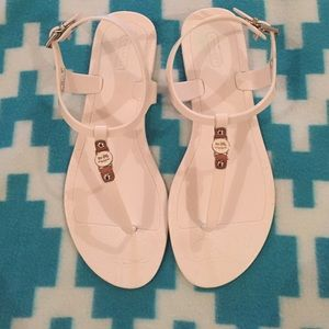 Coach sandals, great condition!