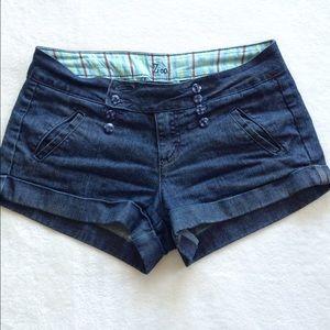 ZCO Pants - Sailor Style Jean Shorts