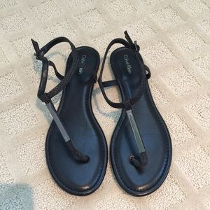 Calvin Klein Shoes - Like New Calvin Klein Sandals