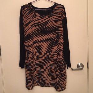 Nic & Zoe BRAND NEW Leopard Print Top