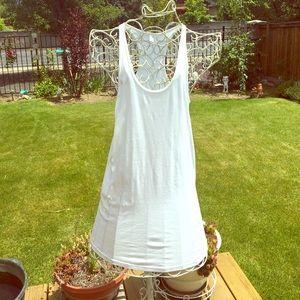 American Apparel White Tunic Dress