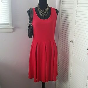 Dresses & Skirts - NWT Fit and flare skater little red dress