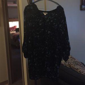 Decree floral blouse size xl