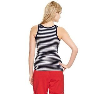 05cf682ca533fe GAP Tops -  10 TOP SALE - GAP Ribbed Striped Tank Top NWT L