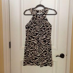 🎀 TRINA TURK Dress/Tunic Top Neutral Colors Sz. 2