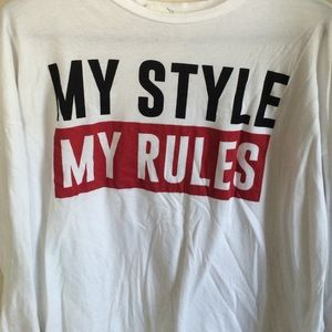 Zara- my style my rules graphic