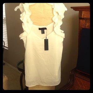 Isabel lu Tops - White Isabel lu blouse.
