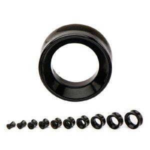 Jewelry - Double Flare Black Onyx Eyelet