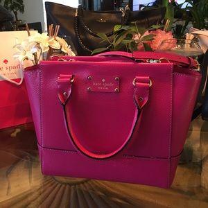 Kate Spade Wellesley Sweetheart Pink Satchel