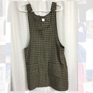 Tracy Evans Vintage 90's Pinafore Plaid Dress