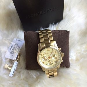 Michael Kors Chronograph Runway Watch 38mm