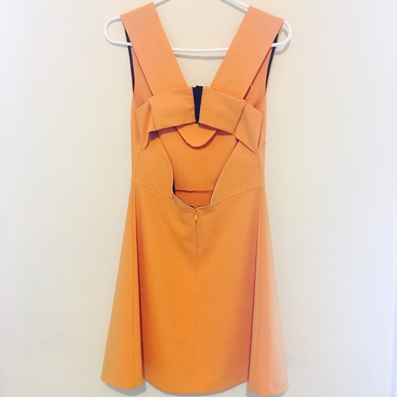 Zara Dresses - Zara Flared Dress with Bow At Back Size Small