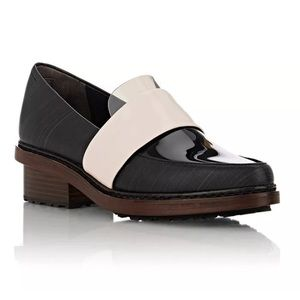 3.1 Phillip Lim leather and PVC Darwin loafers