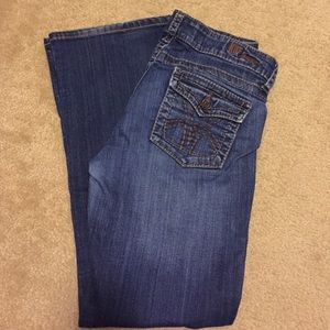 Kut from the Cloth boot cut jeans size 8 ankle