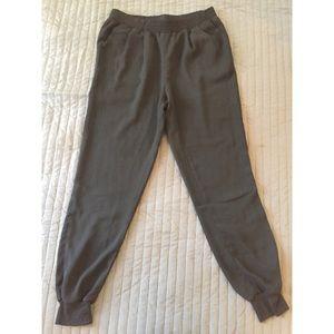 Black Summer Harem Pants - S