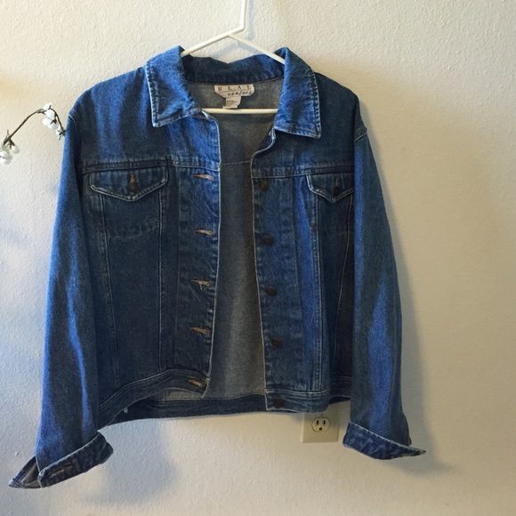 Jackets & Coats - Thrifted denim jacket