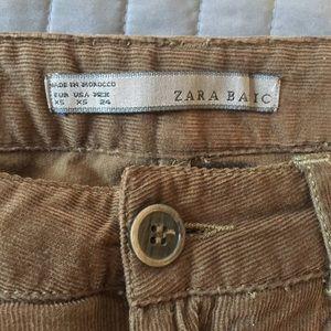 Zara Pants - Soft Corduroy Pants - Size XS