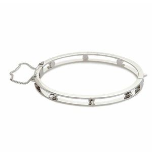 Eddie Borgo Jewelry - Eddie Borgo Silver Partition Bangle Bracelet