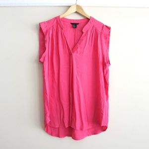HAPPY 4th SALE Pink H&M sleeveless silky blouse