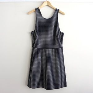 SUNDAY SALE Black and white striped Madewell dress